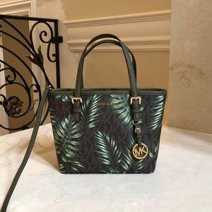 8269fd026fcd Women Michael Kors Palm Green Handbag on Poshmark
